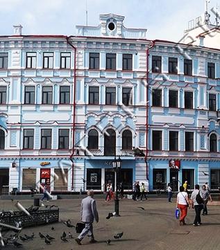 Покраска фасадов зданий картинки