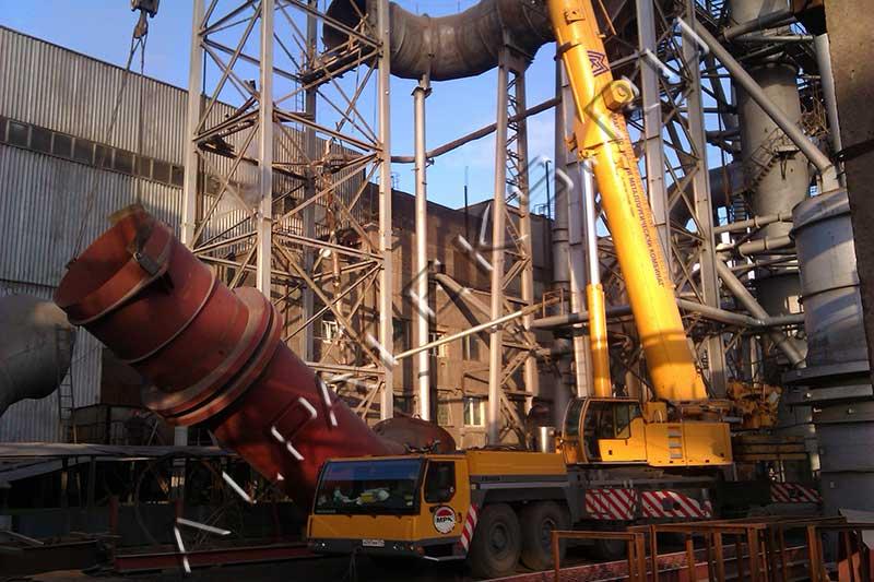 Проект организации демонтажа дымовой трубы